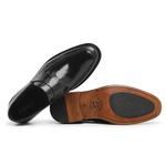 Sapato Social Masculino Loafer Couro Preto Riccally