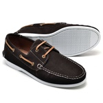 Dockside Masculino Couro Brown Riccally