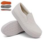 Slip On Matelassê Branco DKShoes