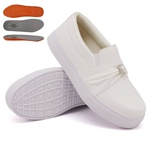 Slip On Pérola Branco DKShoes