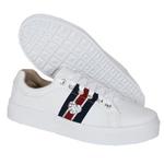 Tênis Casual Coração Branco DKShoes