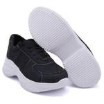Tênis Casual Chuncky Jeans Costura Sola Tratorada DKShoes