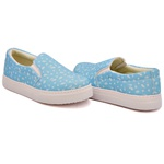 Slip On Estampado Azul Céu DKShoes