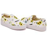 Slip On Estampado Branco DKShoes