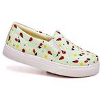 Slip On Estampado Verde Abacate DKShoes