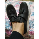 Slip On Laço Preto DKShoes