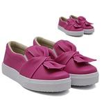 Tal mãe, tal filha: Slip On Laço Pink DKShoes
