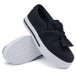 Slip On Laço Jeans DKShoes