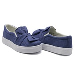 Slip On Laço Jeans Claro DKShoes