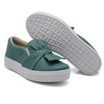 Slip On Laço Verde Pino DKShoes