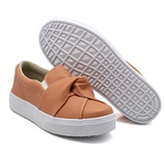 Slip On Nó Laranja Papaya DKShoes
