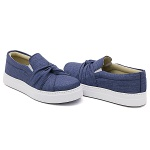 Slip On Nó Jeans Claro DKShoes