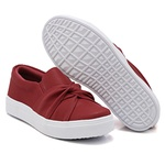 Slip On Nó Vermelho DKShoes