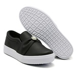 Slip On Pérola Preto DKShoes