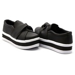 Slip On Nó Sola Alta Preto DKShoes