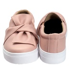 Slip On Laço Rosê DKShoes