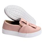 Slip On Laço Rosê DKShoes