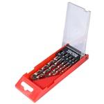 Jogo Brocas Vídia Metal Duro DIN8039 5 peças 4,0a10,0mm 16,0020 ROCAST