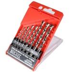Jogo Brocas Vídia Metal Duro DIN8039 8 peças 3,0a10,0mm 16,0021 ROCAST