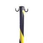 Pedestal Zebrado com Altura de 90cm e Diâmetro Base 23cm PPS 05 PROTEPLUS
