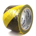 Fita Zebrada Amarelo e Preto PPS 06 PROTEPLUS 150m x 70mm