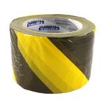 Fita Zebrada Amarelo e Preto PPS 06 PROTEPLUS 200m x 70mm