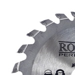 Serra Circular Pastilha Metal Duro Madeira MD 4.3/8polx24 dentes 35,0007 ROCAST
