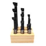 Jogo de Ferramentas para Cabeçote Broqueador 9 peças cabeçote 50mm 74,0001 NOLL