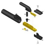 Porta Eletrodo C500 - 010062310 - Carbografite