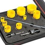 Jogo Serra Copo Bi-Metal Fast Cut 9 Serras e 4 Acessórios KFC09041-S - Starrett