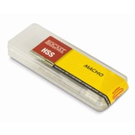 Kit 2 Macho Man Seriado Aço Rápido HSS Rosca Paralela BSP Bit 1/8 22,0087 ROCAST
