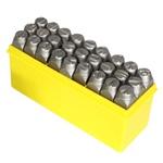Jogo de Punção Alfabético 27 peças 12,50mm 60,0020 ROCAST