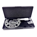 Micrômetro Externo Analógico com Arco Ferro Fundido de 25 a 50mm 2,0002 ZAAS