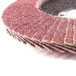 Disco de Lixa Flap 115 x 22mm 4.1/2pol x 7/8pol Gr 80 102,0003 ROCAST