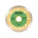 Disco Diamantado Turbo Corte Seco Uso Geral 110 X 20mm 34,0001 ROCAST