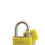 Cadeado Cores Amarelo 25mm - LT-25 - PADO