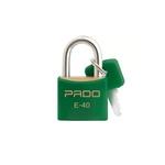 Cadeado Cores Verde 40mm - E-40 - PADO