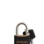 Cadeado Cores Preto 40mm - E-40 - PADO