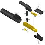 Porta Eletrodo C300 - 010064310 - Carbografite