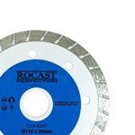 Disco Diamantado Combat Turbo Uso Geral Corte Seco 110x20mm 34,0013 ROCAST