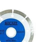 Disco Diamantado Combat Segmentado Uso Geral Corte Seco 110x20mm 34,0012 ROCAST