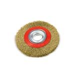 Escova de Aço Latonado Circular 6pol X 1/2pol 319,0004 ROCAST