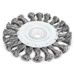 Escova de Aço Trançado Circular 6 pol x 1/2pol 319,0020 ROCAST
