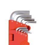 Jogo de Chaves Allen Abauladas 9 peças 1,5 A 10,0mm 374,0004 NOLL