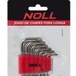 Jogo de Chaves Torx Longas 7 peças T10 A T40 374,0006 NOLL