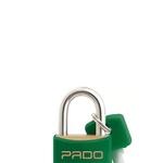 Cadeado Cores Verde 20mm - LT-20 - PADO