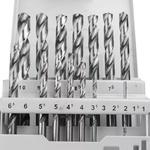 Jogo de Brocas para Metal 1.0mm a 10.0mm 19 Peças - Bosch