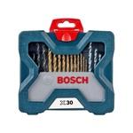 Estojo de Brocas e Pontas com 30 Peças X-Line Titânio - Bosch