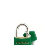 Cadeado Cores Verde 30mm - LT-30 - PADO