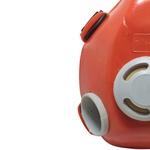 Máscara Respiratória Semi Facial para 2 Filtros PPR 12 PROTEPLUS
